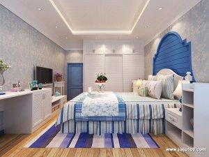 地中海风格卧室图