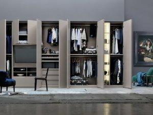 现代组合型衣柜设计效果图 主卧大衣柜图片