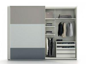 现代推拉门衣柜设计效果图 整体衣柜图片