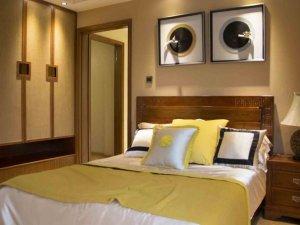 东南亚风情卧室装修效果图 别样风情衣柜设计图