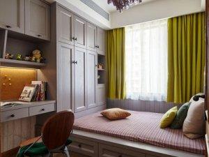 新中式混搭风全屋定制效果图 灰色系衣柜图片大全