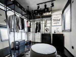 现代风格简易衣柜设计效果图 独立衣柜装修图片大全