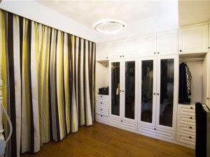 卧室衣柜装修效果图大全 玻璃门衣柜设计图大全