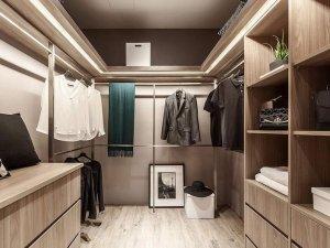 开放式衣帽间设计效果图 全屋定制系列衣柜设计图