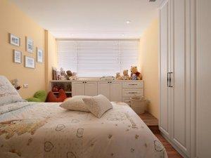 主卧大衣柜设计效果图 白色整体设计衣柜图片