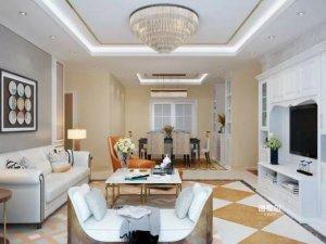 德维尔全屋定制案例 欧式风格四房两厅全屋定制装修效果图