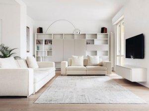 客厅开放式书柜效果图 整体书柜设计图