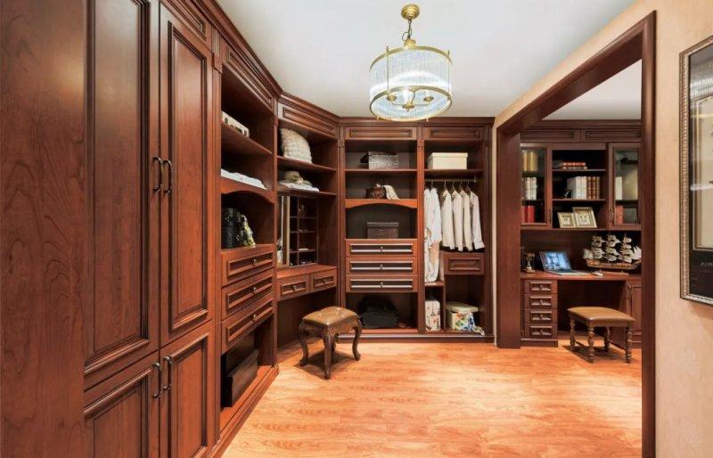 西西衣柜图片 美式风格全屋定制效果图
