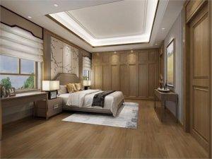 新中式风格衣柜效果图 豪华大户型衣柜效果图