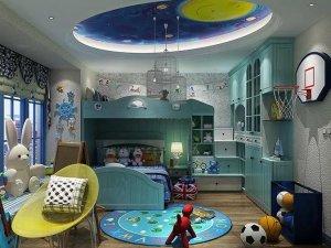 艾依格全屋定制图片 儿童房设计效果图