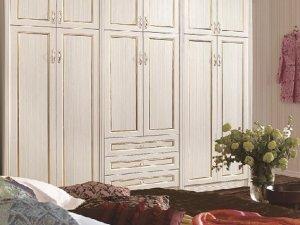 优睐客全铝定制 美式风格铝制衣柜图片