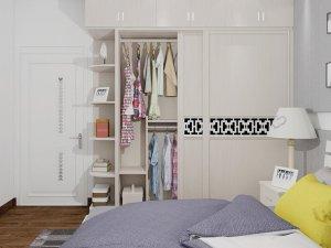卡诺亚整体衣柜效果图 现代整体衣柜图片