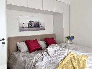 现代风卧室衣柜图片大全 白色衣柜效果图