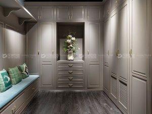 艾度巨迪 欧式白色儿童房环保经济型卧室柜定做