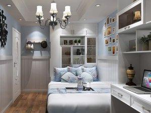 艾依格衣柜效果图 卧室书房飘窗榻榻米床衣柜一体