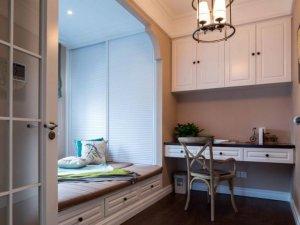 美式卧室白色衣柜效果图 平开门衣柜图片