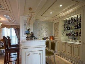 白色酒柜效果图 欧式大衣柜图片大全