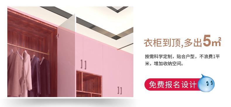 丽博衣柜效果图 卧室衣柜设计效果图