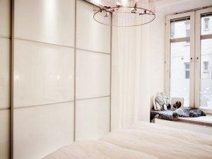 白色衣柜门图片 现代风大衣柜图片大全