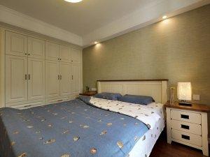 美式大衣柜图片大全 白色实木衣柜门图片