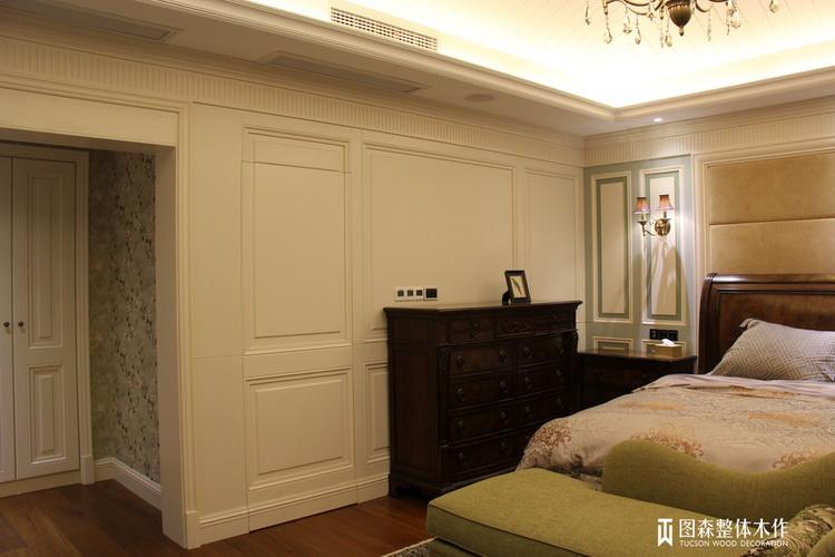 图森全屋定制效果图 欧式实木护墙板图片大全