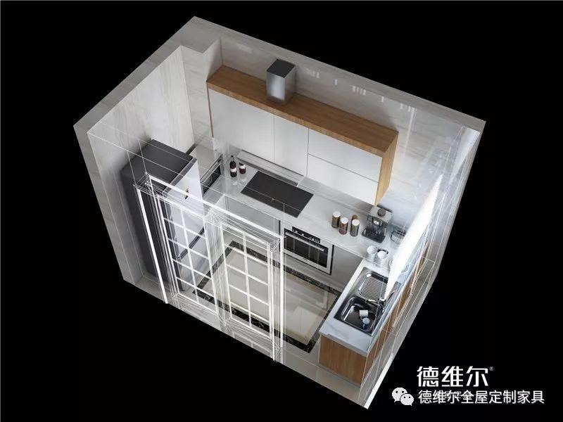 德维尔全屋定制图片 美式风格麦金利系列全屋装修效果图