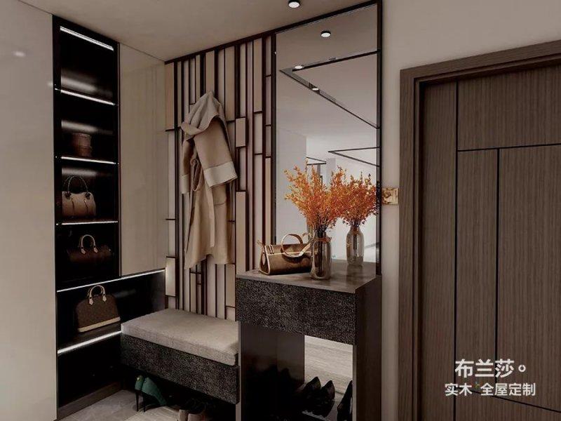 布兰莎全屋定制图片 130㎡优雅轻奢美宅设计效果图