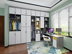 多种风格衣柜设计图大全 时尚大衣柜内部效果图
