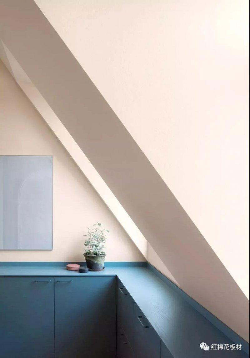 红棉花板材挪威蓝YDH392图片 地中海风格全屋定制装修效果图