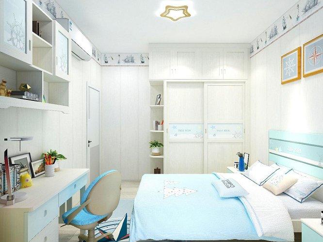 粉色卧室衣柜设计效果图 现代风整体衣柜图片