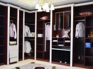 铝管家铝合金衣柜  现代风格L型衣柜