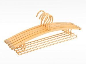 盼盼晾衣架  铝合金家用创意多功能晒衣服架子防滑效果图