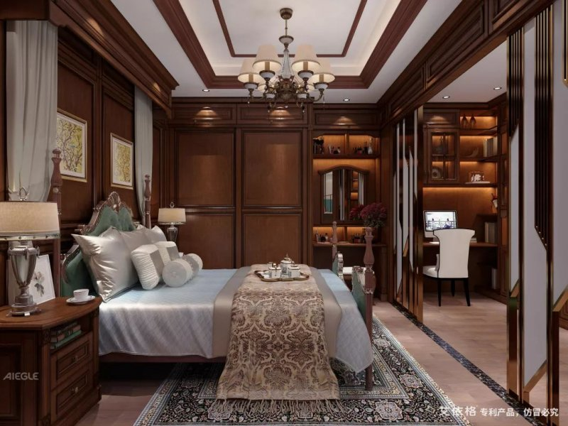加州庄园系列卧室设计