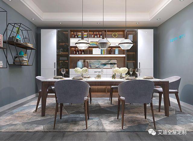 艾迪现代简约风家装案例  简约而不简单的空间