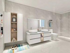 百得胜全屋定制  7款浴室柜新品效果图