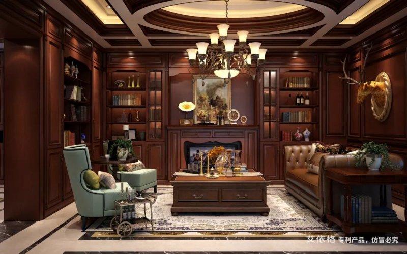 艾依格全屋定制  加州庄园系列  美式风格
