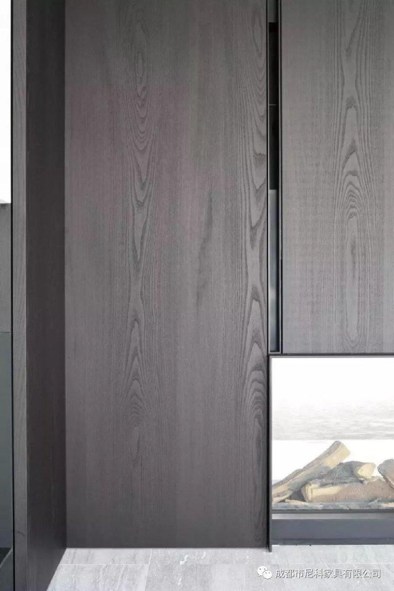 尼奥・科尔曼  现代简约风格黑色全屋定制效果图