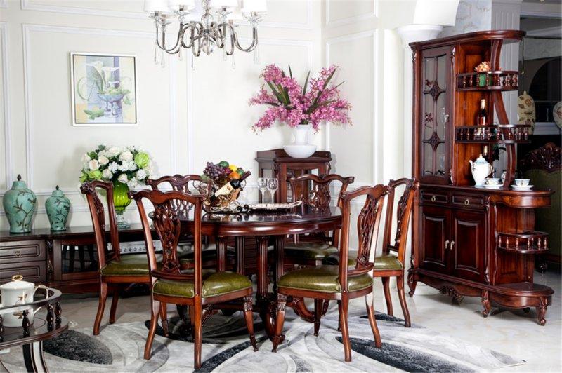 易郡美家家具 贝克系列  美式风格