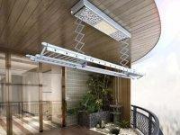奥华|集成吊顶+智能晾衣机 阳台就该这样装