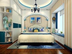 维意定制 地中海风格卧室