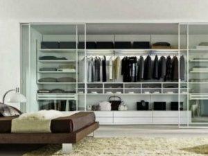 温馨不乏稳重 现代简约风格衣柜效果图