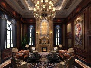 欧美古典风格设计图片 别墅全屋定制装修效果图