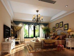 别墅全屋定制装修图片 现代美式风格装修效果图