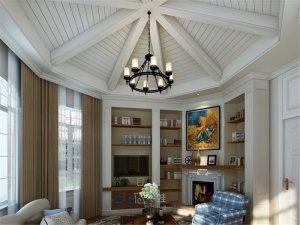 西郊紫郡别墅项目装修图片 欧美风格设计效果图