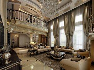 祥和公寓别墅项目装修图片 欧式古典风格设计案例