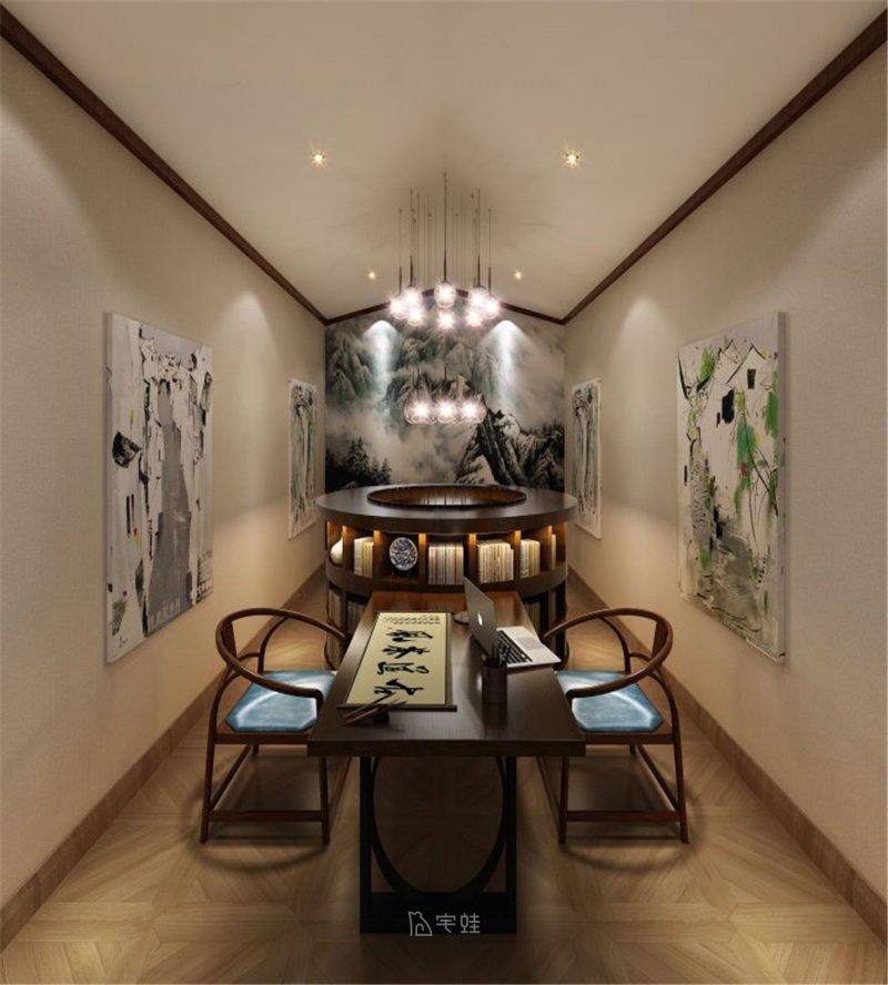 480㎡独栋别墅全屋定制设计 新中式风格案例展示