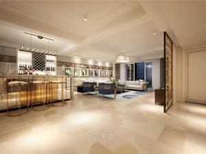 东海御庭别墅项目装修图片 现代轻奢主义风格设计