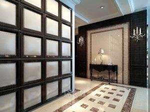 上海汤臣一品别墅项目装修 欧美风格设计效果图