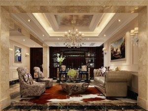 中星红庐独栋别墅图片 欧式古典风格设计案例