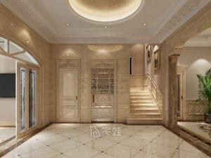 国泰润园别墅项目装修图片 欧式古典风格设计